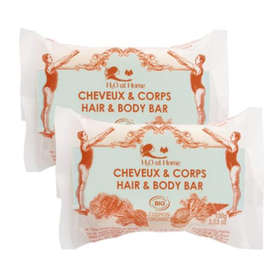 CHEVEUX & CORPS - LOT DE 2